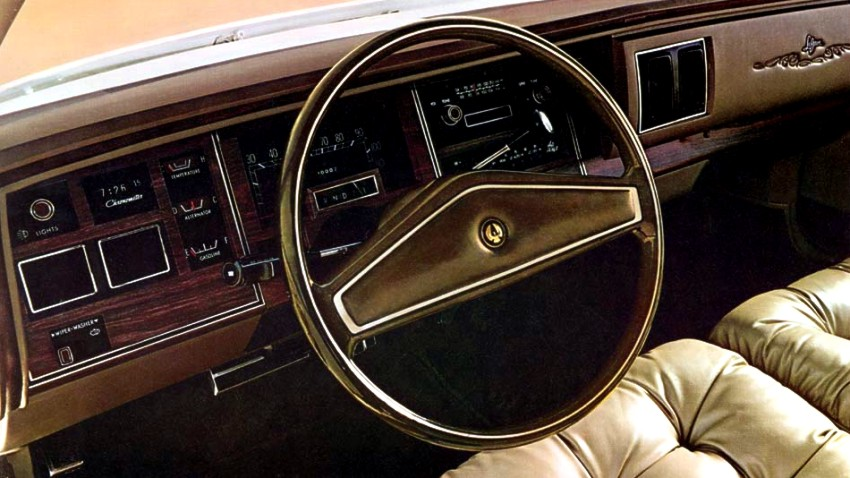 1975 Chrysler Imperial Standard Equipment