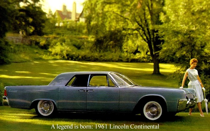 1961 Lincoln Continental Contents | AUTOMOTIVE MILEPOSTS