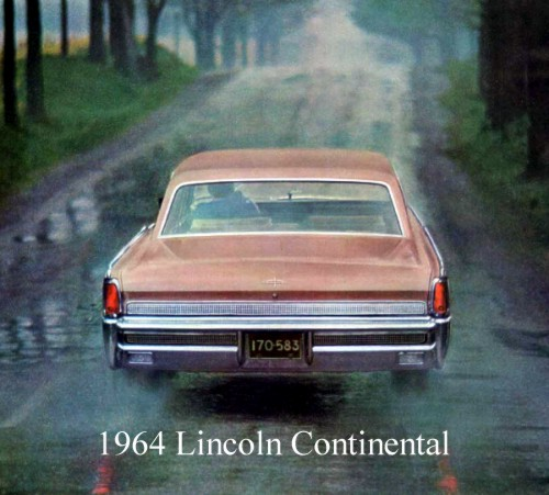 1964 lincoln continental contents automotive mileposts. Black Bedroom Furniture Sets. Home Design Ideas