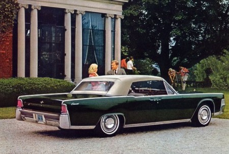 1965 Lincoln Continental Standard Equipment