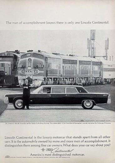 1965 lincoln continental executive limousine. Black Bedroom Furniture Sets. Home Design Ideas