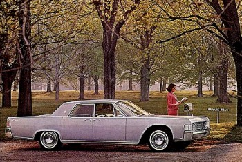 Image: 1965 Lincoln Continental Sedan