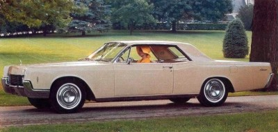 Image: 1966 Lincoln Continental Coupe