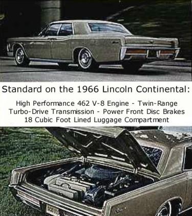1966 lincoln continental standard equipment. Black Bedroom Furniture Sets. Home Design Ideas