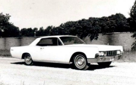 1967 Lincoln Continental Production Numbers/Specifications