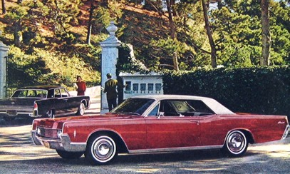 Image: 1967 Lincoln Continental Coupe