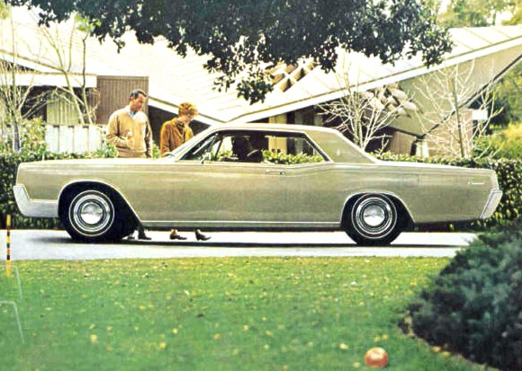 1967 Lincoln Continental Contents | AUTOMOTIVE MILEPOSTS
