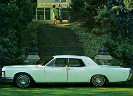 1968 Lincoln Continental Production Numbers/Specifications