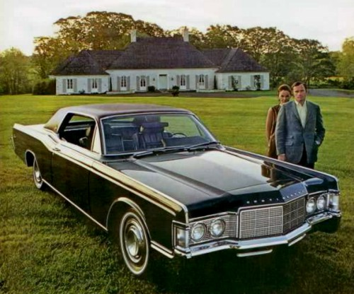 1969 Lincoln Continental Standard Equipt