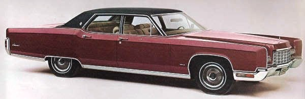 1972 Lincoln Continental Automotive Mileposts