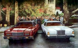 Image: 1973 Lincoln Continental Sedan and Continental Mark IV
