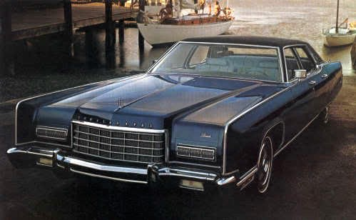 1973 lincoln continental automotive mileposts. Black Bedroom Furniture Sets. Home Design Ideas