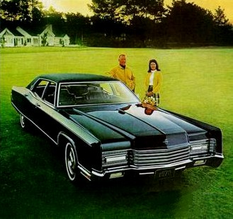 Image: 1970 Lincoln Continental Sedan