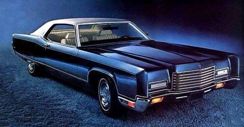 Image: 1971 Lincoln Continental Coupe