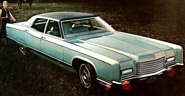1971 Lincoln Continental | AUTOMOTIVE MILEPOSTS