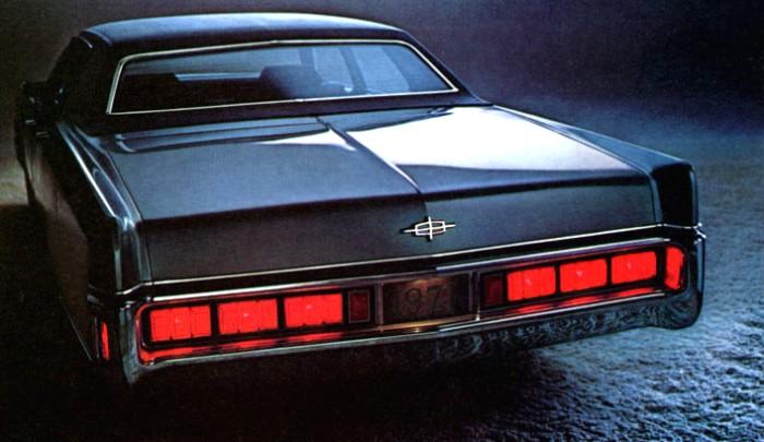 1971 Lincoln Continental Automotive Mileposts