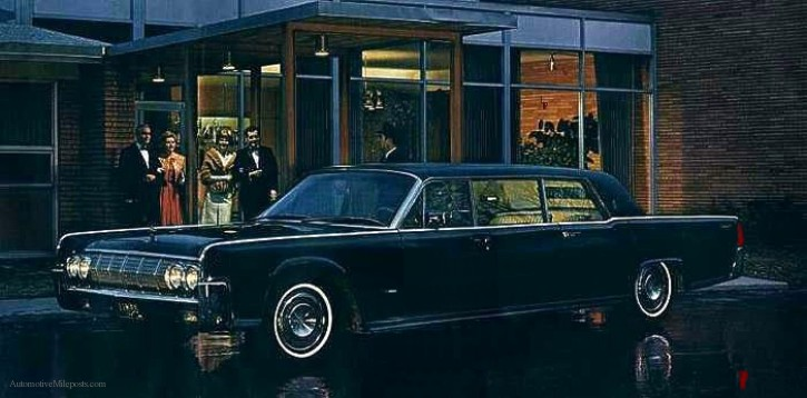 1964 1970 lincoln continental executive limousine by lehmann peterson. Black Bedroom Furniture Sets. Home Design Ideas