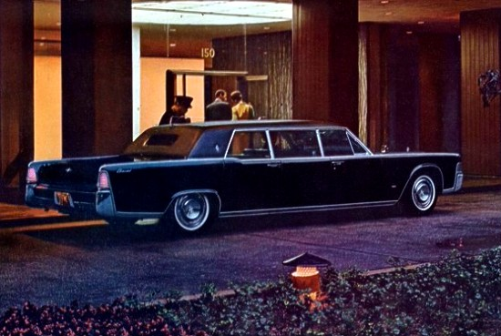 Image: 1965 Lincoln Continental Executive Limousine