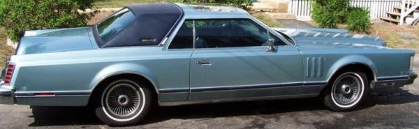 Image: 1979 Continental Mark V Collector's Series in Diamond Blue [Photo: eBay]