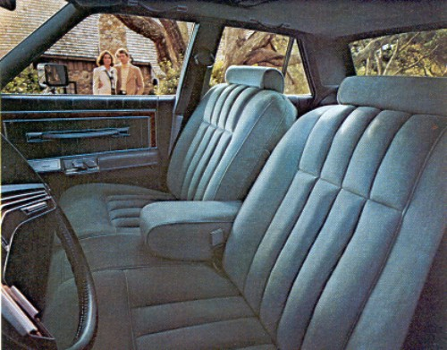 1977 Lincoln Versailles Interior Trim
