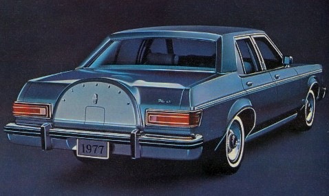 1977 Lincoln Versailles Standard Equipment