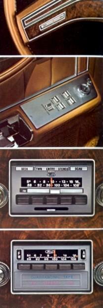 1978 Lincoln Versailles Optional Equipment