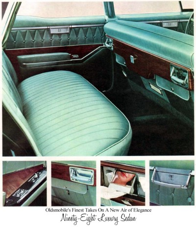 Image: 1965 Oldsmobile Ninety Eight Luxury Sedan interior