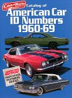 Catalog of American Car ID Numbers 1960-69