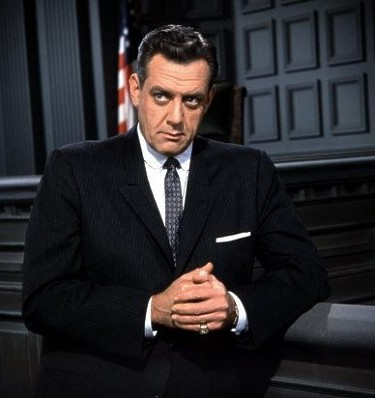 Image: Raymond Burr as Perry Mason