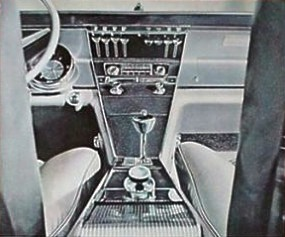 Image: 1963 Buick Riviera instrument panel and console