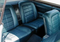 Riv Bluestdvinyl on 1964 Buick Riviera Custom Interior