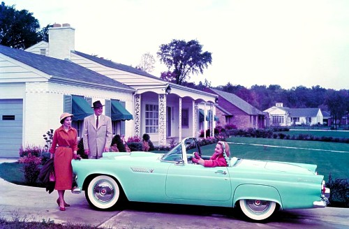 1955 Ford Thunderbird Production Numbersspecifications