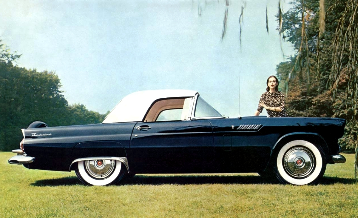 1956 Ford Thunderbird Production Numbers Specifications