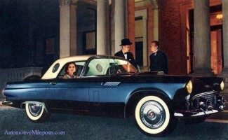 Ford Thunderbird History The Fifties
