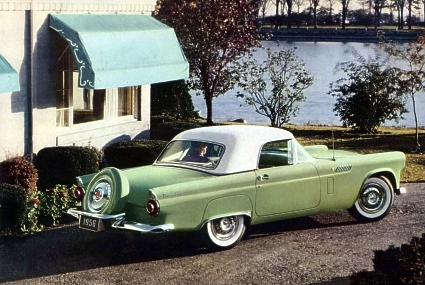 1956 Ford Thunderbird Paint Codes