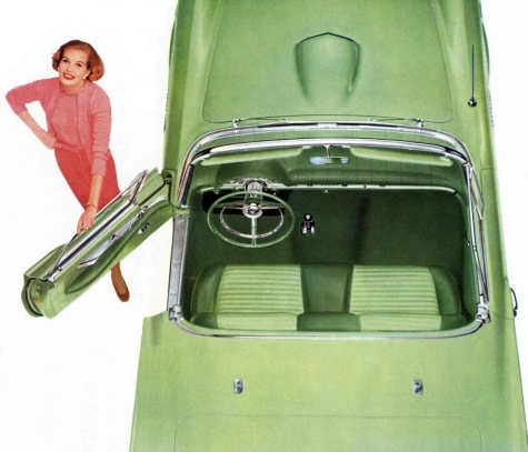Image: 1957 Ford Thunderbird interior