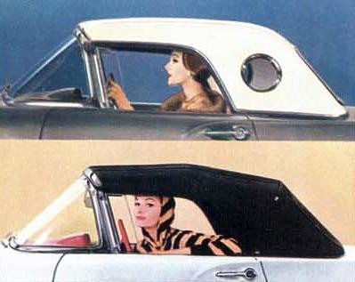 1957 Ford Thunderbird Interior Trim