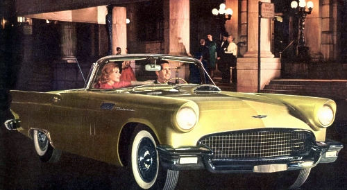 1957 Ford Thunderbird Production Numbers/Specifications