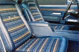 1978 Ford Thunderbird Interior Trim
