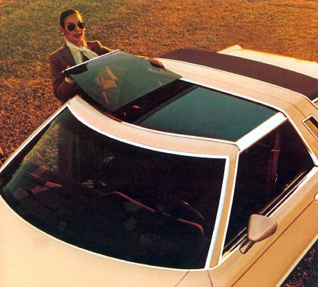1979 Ford Thunderbird T-Roof Convertible in Pastel Chamois