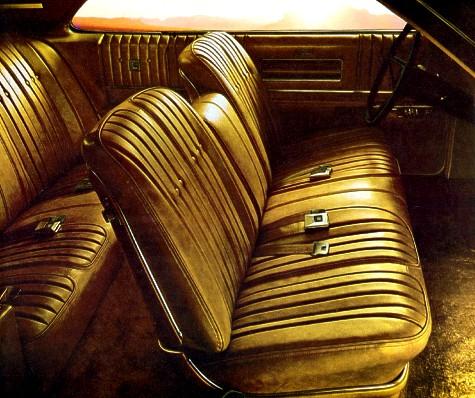 1968 Oldsmobile Toronado Interior Trim