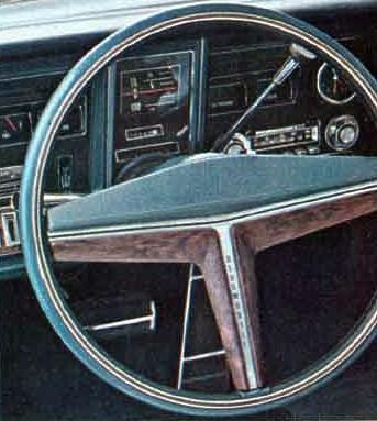 1969 Oldsmobile Toronado Optional Equipment