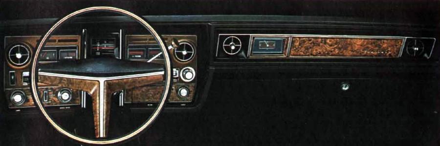 1970 Oldsmobile Toronado Standard Equipment