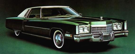 1972 Cadillac Eldorado Production Numbers Specifications
