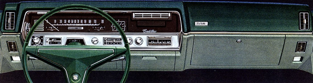 1967 Cadillac Contents Automotive Mileposts