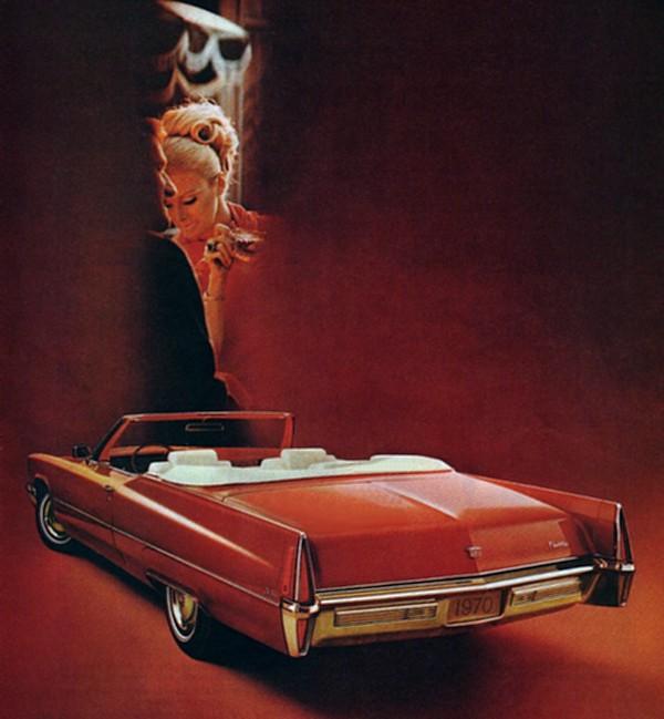1970 Cadillac Paint Codes