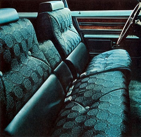 1970 Cadillac Interior Trim