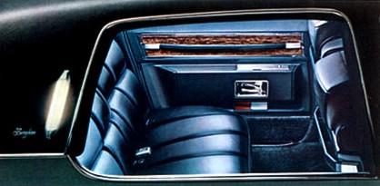 1971 Cadillac Interior Trim