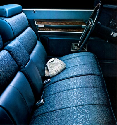 1971 Cadillac Interior Trim