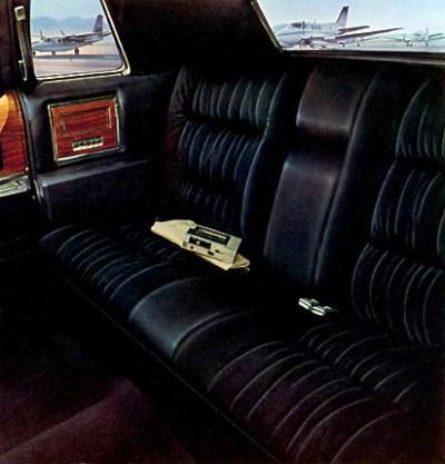 1975 Cadillac Interior Trim